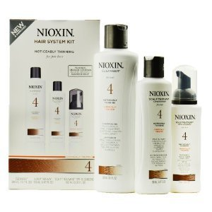 Nioxin Hair System Kit 4 Noticeably Thinning for Fine Hair