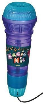 Plastic Microphone - Translucent Echo Mic Magnifies Voice -