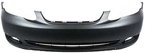 TO1000298 Fits; 2005 2006 2007 2008 Toyota Corolla S Front Bumper Painted