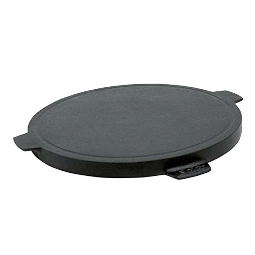Plancha Griddle - Dual-Sided Cast Iron, 10.5 inch by Big Green Egg (Image #1)