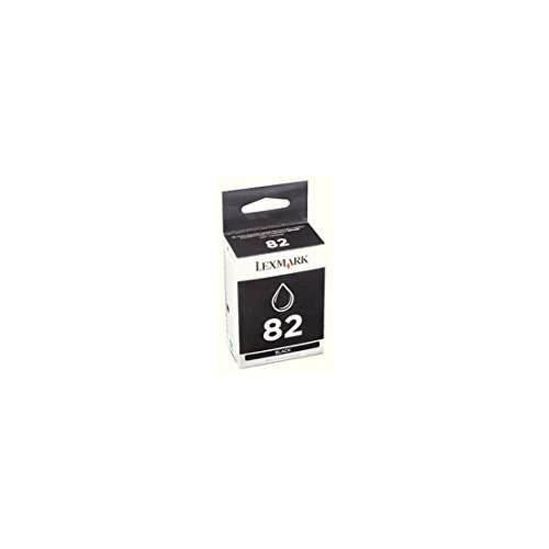 Price comparison product image Lexmark 82 (18L0032) Black OEM Genuine Inkjet/Ink Cartridge (600 Yield) - Retail by Lexmark