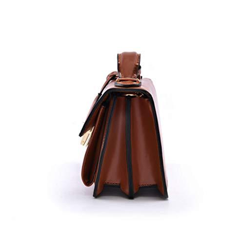 carré la à Tissu Brown Sac Sac 14 Couleur à Simple à rétro Sac de Oxford bandoulière en Petit chaîne Sac Main 19 Couleurs 4 Sauvage Sac 9cm bandoulière Z0UZvqp