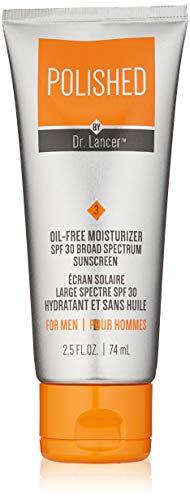 Polished by Dr. Lancer Oil-Free Face Moisturizer SPF 30 Broad Spectrum Sunscreen, 2.5 Fl Oz
