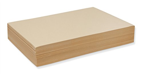 Pacon 4012 Cream Manila Drawing Paper, Economy 40-lb., 12 x 18, 500 Sheets/pack