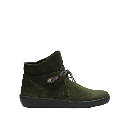 Wolky Comfort Bottines Pharos 40731 Forest Suede