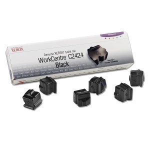 - Xerox Black Solid Ink Sticks. 6 STICKS BLACK GENUINE SOLID INK FOR WORKCENTRE C2424 SISUPL. Solid Ink - Black
