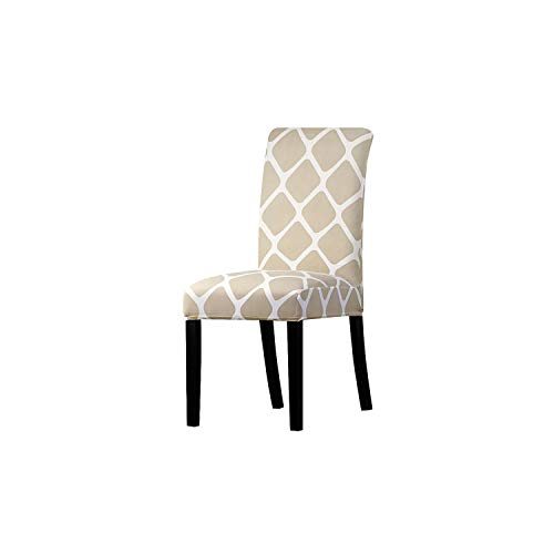 pleasantlyday Print Flowers Chair Cover Classic Chair Covers Seat,K 103,Universal Size ()