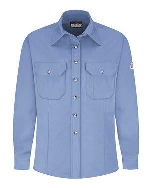(Bulwark Women's Dress Uniform Shirt - EXCEL FR ComforTouch XL Light Blue)
