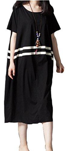みぞれおめでとう退院[エヘウ] マタニティ 授乳服 ワンピース パジャマ 半袖 (レッド, M)