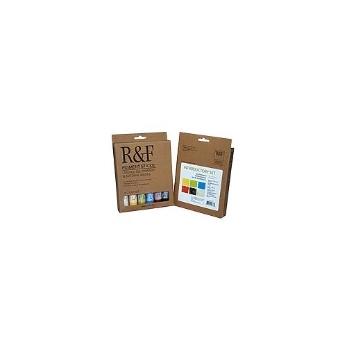 R&F Handmade Paints Introductory Colors, Set of 6 ()