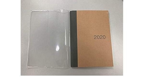 2016 calendario de MUJI rojo Nota con transparente case (tamaño: A6): Amazon.es: Bricolaje y herramientas