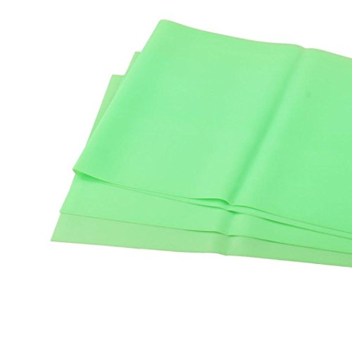 Robiear Pilates Yoga Workout Aerobics Stretch Band Tensile Band Elastic Band (Green )