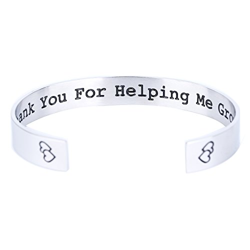 ELOI Teacher's Bracelet Jewelry Thank You for Helping Me Grow Teacher Gift,Gift from - Ideas Teacher Gift Pinterest Christmas