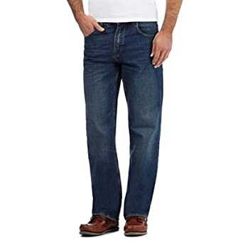 78fa7a1b10f Maine New England Men s Blue Regular fit Jeans 32 Long  Maine New ...