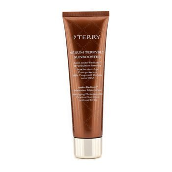 By Terry - Serum Terrybly Sunbooster Auto-Radiant Intensive Moisturizer -50ml/1.67oz Freeup Unscented Massage Cream Jar, 8 oz