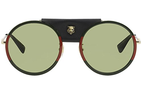 45faaba334 Gucci GG0061S Women s Round Sunglasses Size 56 mm