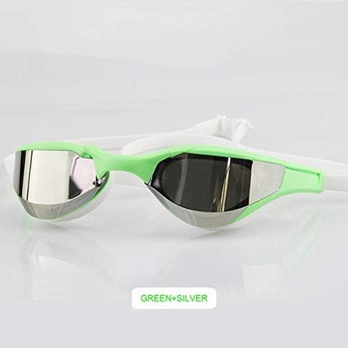 Nueva profesión Racing Gafas de natación Recubrimiento Anti-vaho Impermeable Protección UV Competencia Gafas de natación Partido Gafas de natación