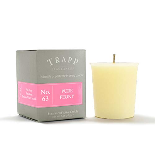Trapp Signature Home Collection No. 63 Pure Peony 2 Ounce Votive - 2 Pack