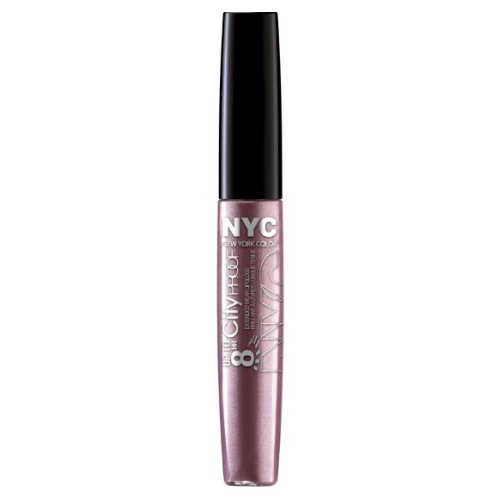 (6 Pack) NYC Up To 8HR City Proof Gloss - 24/7 Lilac