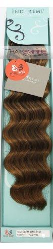 "Bobbi Boss Indi Remi Hair Extension 22"" Ocean Wave #4/27/30"