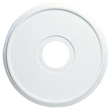 "Westinghouse 7703500 Lighting Ceiling Medallions, Molded Plastic, 16 Inch Dia, 16"", White Finish"
