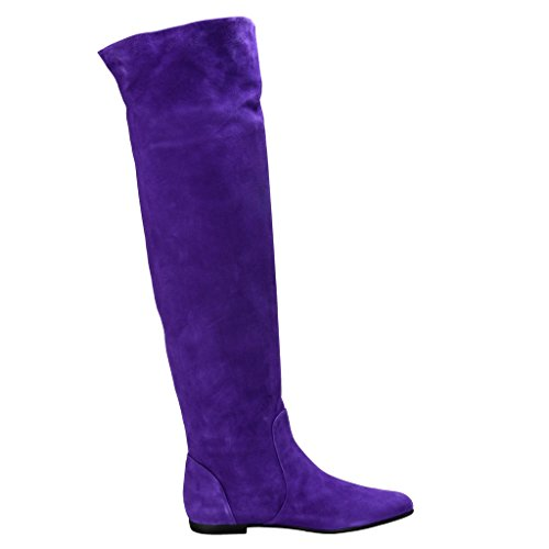 Giuseppe Zanotti Design Womens Suede Leather Boots Shoes US 11 IT 41; hINnPT6