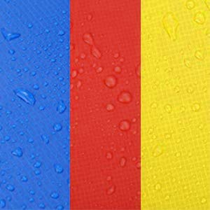 ANCHEER 15 14 12 10 Ft Replacement Trampoline Surround PVC Pad Foam Safety Spring Cover Padding Pads (Rainbow, 10ft) by ANCHEER (Image #1)