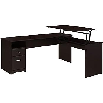 competitive price 8989e f0007 Amazon.com: Ameriwood Home 9552296COM Wildwood L Shaped Desk ...