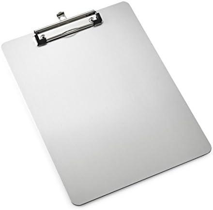 AdirOffice Aluminum Clipboard Profile Lightweight