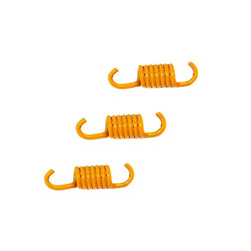MMG Powersports Clutch Shoe Springs Set GY6 50cc Racing 1500N, Yellow