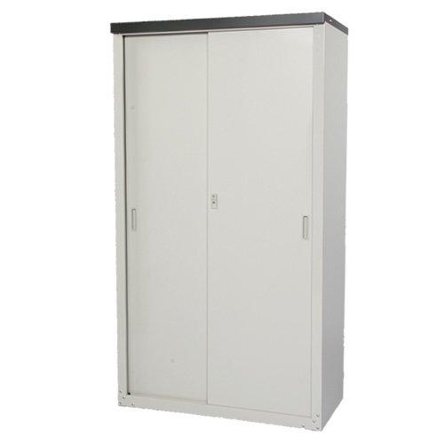 収納庫 幅89×奥行47×高さ162cm 棚12段階調節可能 B00N1P04UC