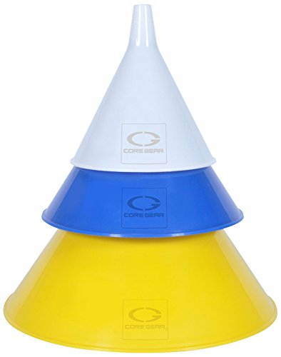 CoreGear Multi Purpose Funnel Capacities 3 Pack product image