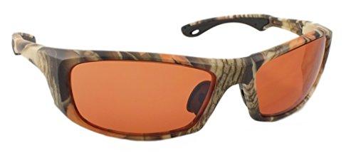 - Optic Edge Crossfire Camo Frame and Vermillion Lens