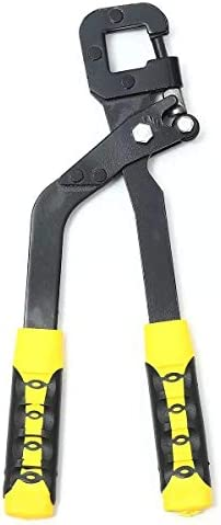 ペンチ パンチツールファスニングスタッドクリンパープライヤーハンドルスタッドクリンパー鉗子キールボード乾式壁ハードウェアツールキット 軽量タイプ