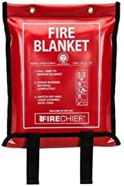 Fire Blanket 1.2m x 1.8m in Soft Case