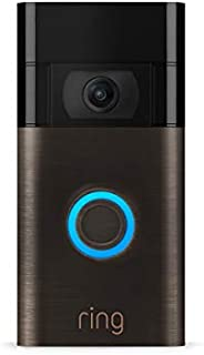 All-new Ring Video Doorbell – 1080p HD video, improved motion detection, easy installation – Venetian Bronze (