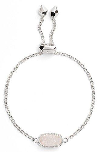 Kendra Scott Elaina Iridescent Drusy/ Silver Bracelet Perfect Gift Item