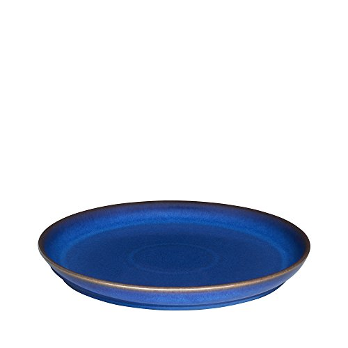 Denby Imperial Blue Coupe Dinner Plate, Royal ()