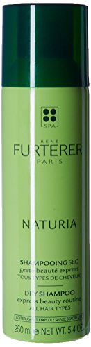 Rene Furterer NATURIA Dry Shampoo,  Oil-Absorbing, Clay, Beige Tint, Lightly Scented, 5.4 oz.