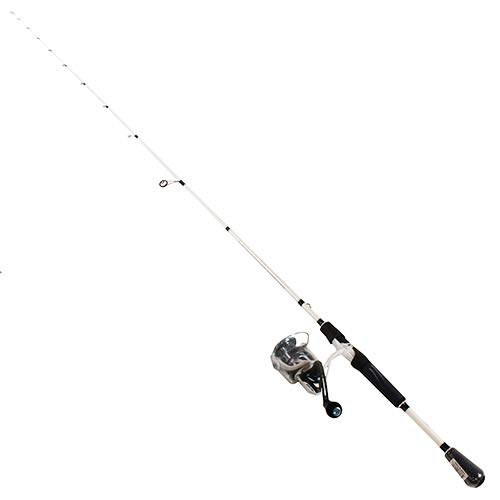 Lews Fishing MI3070MLS Mach Inshore Speed Spin Spinning 1Piece Combo, 6.2: 1 Gear Ratio, 35