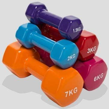 1 P/èse de gymnastique en n/éopr/ène ou antid/érapant halt/ère de fitness en n/éopr/ène avec /équilibre central de poids du bras de Pilates