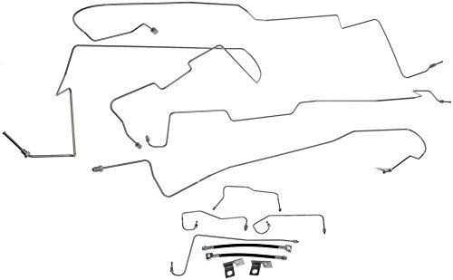 Brake Dorman Hose Rear - Dorman 919-170 Stainless Steel Brake Line Kit