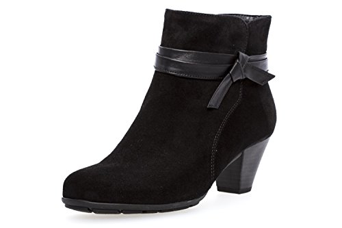 ANKLE TIFFEY Suede GABOR Black BOOT Oq85RwC8