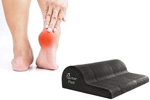Plantar Pad - Plantar Fasciitis Treatment – Cure Foot Pain, Heel Pain, & Plantar Fasciitis Pain – Evidence Based Cure for Sore Feet