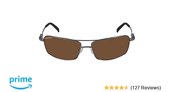 4eeeea48c6 Amazon.com  Serengeti Dante Sunglasses (Shiny Gun