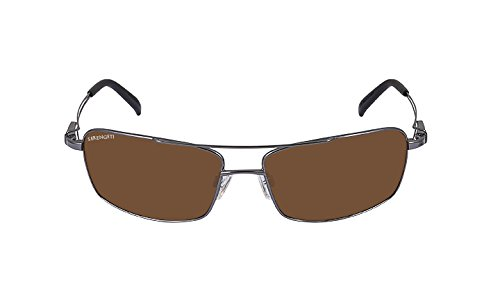 Serengeti Dante Sunglasses (Shiny Gun, Drivers - Serengeti Men Sunglasses
