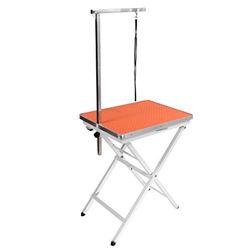 Flying Pig Grooming Mini Size Pet Dog Portable Grooming Table (Orange)