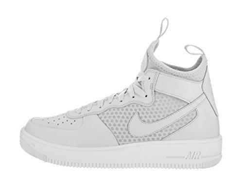 Tessuto Mid tecnico Air Force 1 Uomo Nike Sneakers Grigio Ultraforce gX0OqwYq