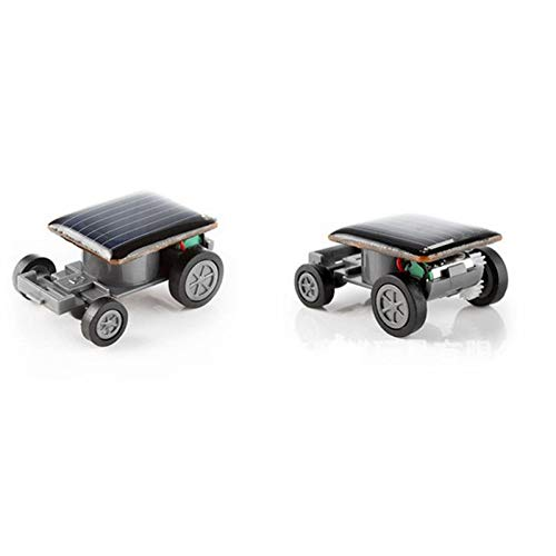AckfulSmallest Solar Power Mini Toy Car Racer Educational Solar Powered Toy
