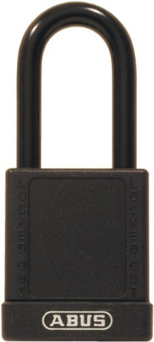 (ABUS 74/40 KD Safety Lockout Non-Conductive Keyed Different Padlock with 1-1/2-Inch Shackle,)